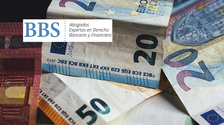 Billetes de euros. Gastos de hipoteca abusivos. BBS Abogados.